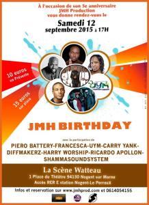 JMH Birthday